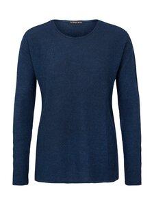 Round Neck Sweater Alpaka - blue - Les Racines Du Ciel