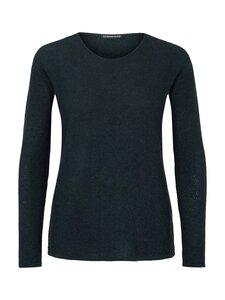 Round Neck Sweater Alpaka - green - Les Racines Du Ciel