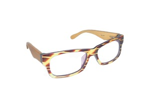 Nerd Brille - HORN - woodlike - Eco Unit T