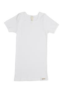 Fairtrade Shirt kurzarm, weiss - comazo|earth