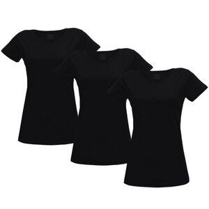 Damen T-Shirt 3er Pack verschiedene Farben - Fairtrade & GOTS zertifiziert - MELAWEAR