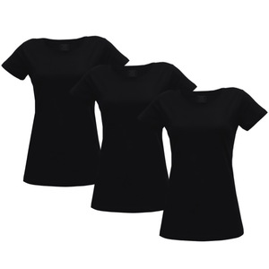 Damen T-Shirt 3er Pack - Fairtrade & GOTS zertifiziert - MELAWEAR