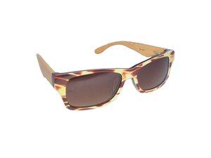Designer Sonnenbrille -  HORN - woodlike - Eco Unit T
