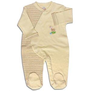 Baby Bio Schlafanzug Erstlingsstrampler Ungefärbt - Mama Ocllo®