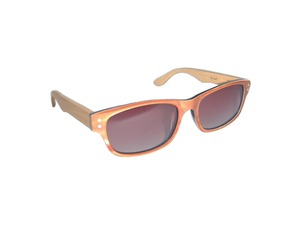 Designer Sonnenbrille - MOTHER OF PEARL - woodlike - Eco Unit T