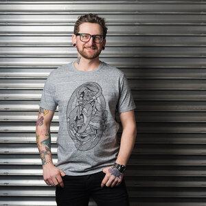 "Men T-Shirt ""Turba"" - DISKO"