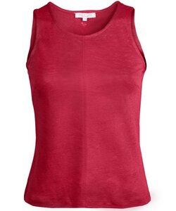 Linen Top poppy red - Alma & Lovis