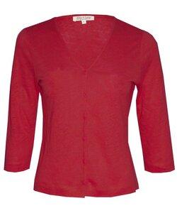 Linen Jacket poppy red - Alma & Lovis
