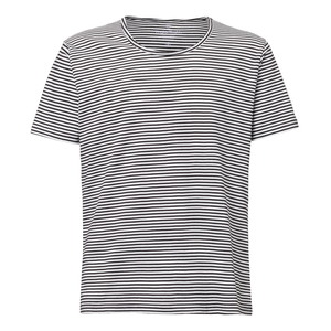 ThokkThokk Stripes Wide Neck Black/White  - THOKKTHOKK