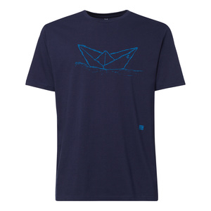 ilovemixtapes Paperboat T-Shirt blue/midnight - ilovemixtapes