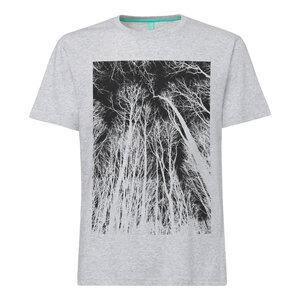 ilovemixtapes Forest T-Shirt black/grey melange spotted - ilovemixtapes