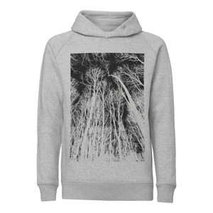 ilovemixtapes Forest Kapuzensweatshirt black/heather grey - ilovemixtapes