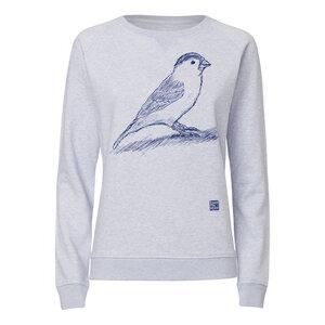 ilovemixtapes Spatz Sweatshirt midnight/light heather lilac - ilovemixtapes