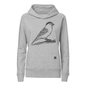 ilovemixtapes Spatz Kapuzensweatshirt black/heather grey - ilovemixtapes