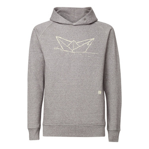 ilovemixtapes Paperboat Kapuzensweatshirt creme/heather stone - ilovemixtapes