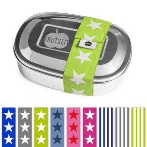 Edelstahl Lunchbox, viele Designs - Brotzeit