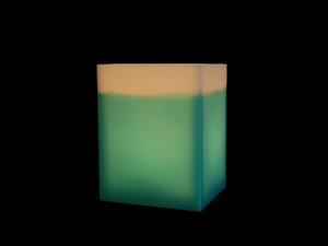 cube stripe türkis  - beelumination