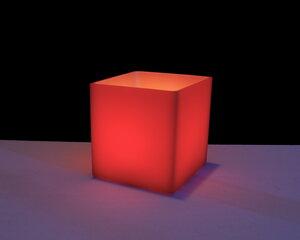 cube S 125 rot - beelumination