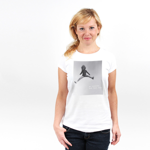 Go Outside and Feel Free - Printshirt Frauen aus Bio-Baumwolle - Coromandel
