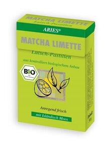 Bio Matcha-Limette Lutsch Pastillen - ARIES