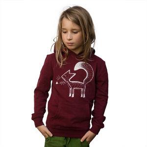 franzi fuchs hoodie burgundy - Cmig