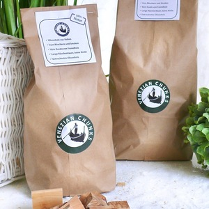 Chunks zum Smoken (1,5 kg) aus Olivenholz - Olivenholz erleben