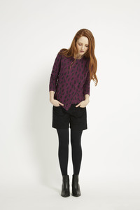Gigi Top - Plum - People Tree