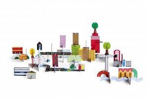 3D Puzzle - Stadtlandschaft - ARCHIVILLE - studio roof