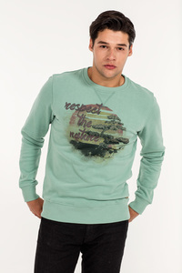 MOR-1701 HERREN SWEATSHIRT - ORGANICATION