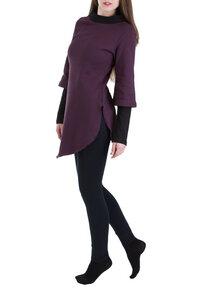 Pullover Kayley violett-schwarz - Ajna