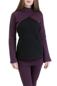 Pullover Mayla violett-schwarz - Ajna
