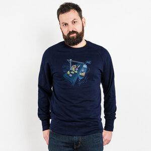 Robert Richter – Game Port - Organic Cotton Sweatshirt - Nikkifaktur