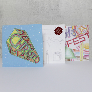 """Postkarten Set mit Kuverts """"Weihnachten"""" - Carlique"""