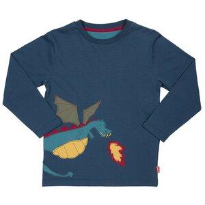 Langarmshirt Drache - Kite Kids