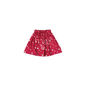 Tilly Skirt raspberry snowy spot - Frugi