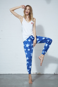 SWEATPANTS INDIGO STAR - Hati-Hati