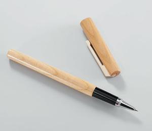 Tintenroller aus edlem Holz - 4betterdays