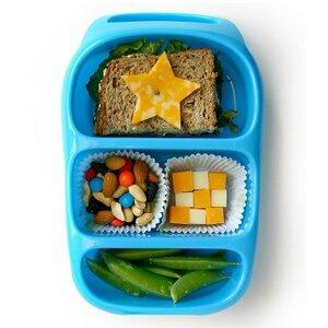 Lunchbox mit Unterteilung und Griff - Goodbyn