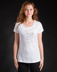 Shirt Yoga Bear weiß - Degree Clothing