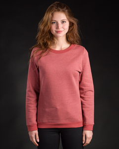 Sweater Basic rot meliert - Degree Clothing