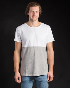 Shirt Half Half weiß - Degree Clothing