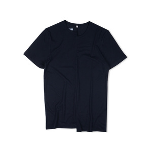 Shirt Asymetric schwarz - Degree Clothing