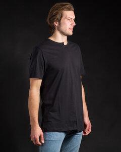 Shirt Asymetric schwarz - Degree Clothing