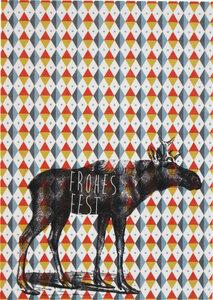Postkarte Elch - ava&yves