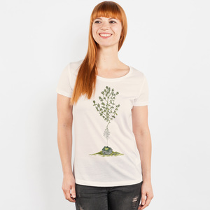 Robert Richter – Green House - Ladies Organic Cotton T-Shirt - Nikkifaktur