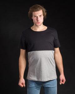 Shirt Half Half schwarz - Degree Clothing