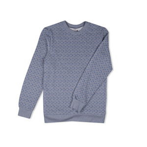 Sweater Smoking Ax-Allover grau - Degree Clothing