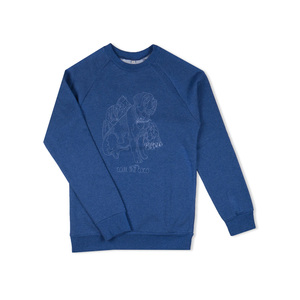 Sweater Drunken Avalancher blau - Degree Clothing