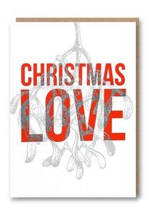 Weihnachtskarte Christmas Love - 1973