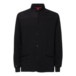 ThokkThokk TT1009 Button Jacket Tapestry man black - THOKKTHOKK